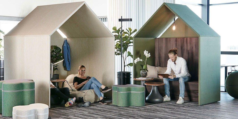 Cabanes acoustiques - Hut