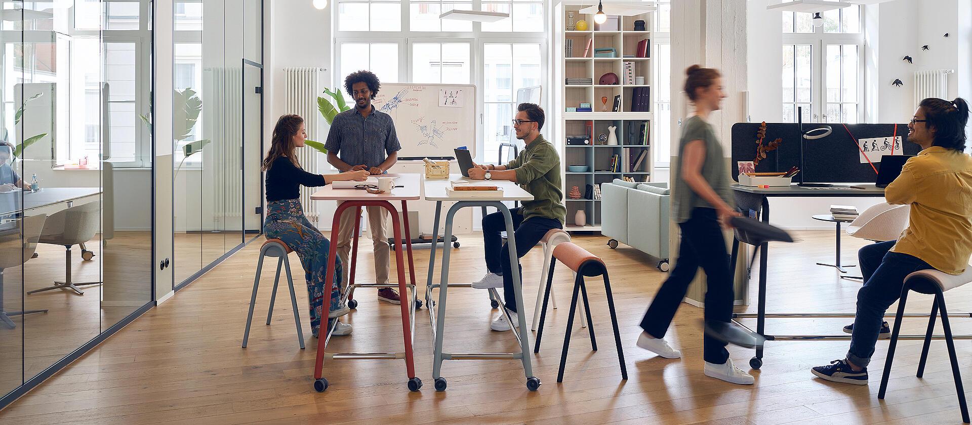Mobilier de partage mobile - Se Lab