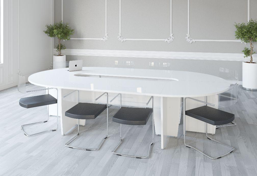 Table de réunion ovale - Succès