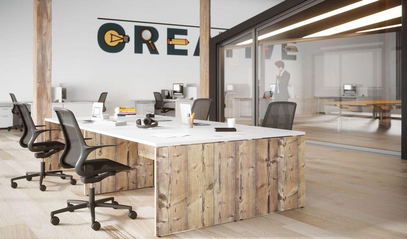Bureaux partagés open space