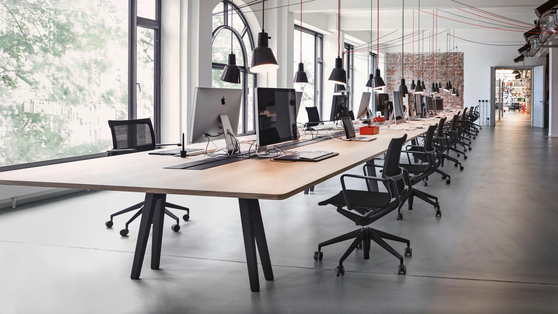 Bureaux grand open space